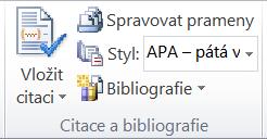 Bibliografie a citování pramenů -1