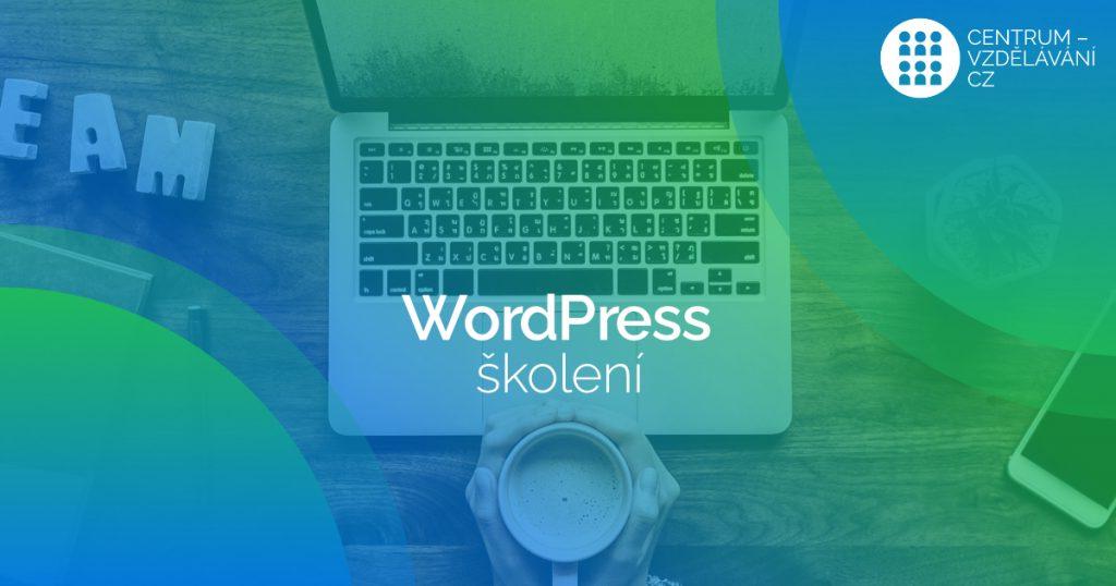Školení WordPress web